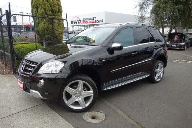 Used Mercedes-Benz M-Class W164 MY10 ML300 CDI BlueEFFICIENCY AMG Sports, 2010 Mercedes-Benz M-Class W164 MY10 ML300 CDI BlueEFFICIENCY AMG Sports Black 7 Speed