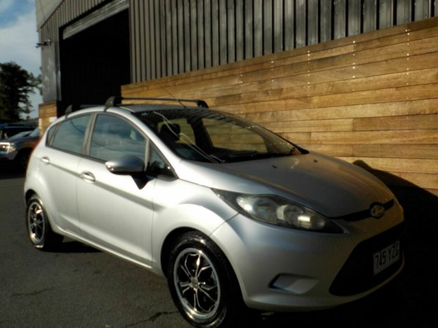 Used Ford Fiesta WS CL, 2009 Ford Fiesta WS CL Silver 5 Speed Manual Hatchback