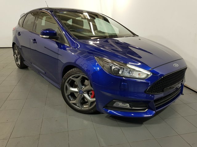 Used Ford Focus LZ ST, 2015 Ford Focus LZ ST Blue 6 Speed Manual Hatchback