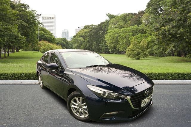 Demo Mazda 3 BN5278 Neo SKYACTIV-Drive Sport, 2019 Mazda 3 BN5278 Neo SKYACTIV-Drive Sport Deep Crystal Blue 6 Speed Sports Automatic Sedan