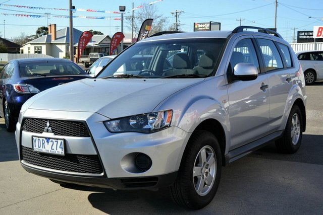 Used Mitsubishi Outlander ZH MY11 LS, 2011 Mitsubishi Outlander ZH MY11 LS Silver 6 Speed CVT Auto Sequential Wagon