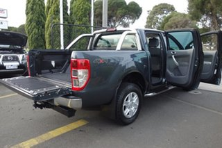 2012 Ford Ranger PX XLT Double Cab Grey 6 Speed Sports Automatic Utility
