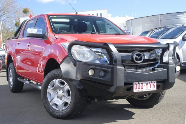 Used Mazda BT-50 UR0YF1 XT, 2016 Mazda BT-50 UR0YF1 XT Red 6 Speed Sports Automatic Utility