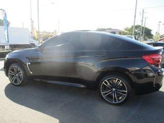 2015 BMW X6 F86 M Coupe Steptronic Black 8 Speed Sports Automatic Wagon.