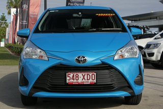 2017 Toyota Yaris NCP130R Ascent Azure Blue 4 Speed Automatic Hatchback