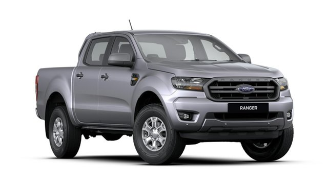 New Ford Ranger PX MkIII 2019.75MY XLS Pick-up Double Cab, 2019 Ford Ranger PX MkIII 2019.75MY XLS Pick-up Double Cab Silver 6 Speed Sports Automatic Utility