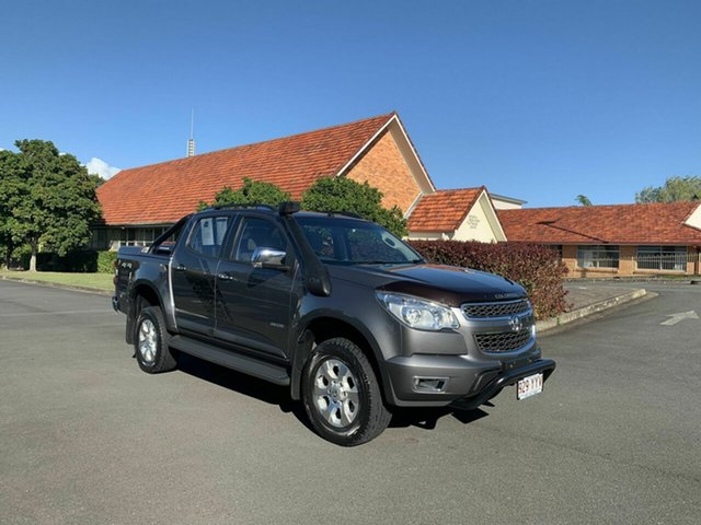 Used Holden Colorado RG , 2014 Holden Colorado RG LTZ STORM Grey 6 Speed Manual Dual Cab