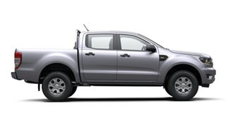 2019 Ford Ranger PX MkIII 2019.75MY XLS Pick-up Double Cab Silver 6 Speed Sports Automatic Utility.