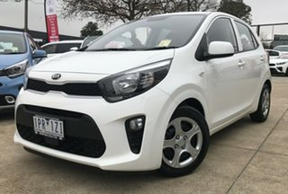 2019 Kia Picanto JA MY19 S Clear White 4 Speed Automatic Hatchback.