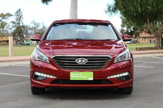 2016 Hyundai Sonata LF MY16 Elite Red 6 Speed Sports Automatic Sedan.