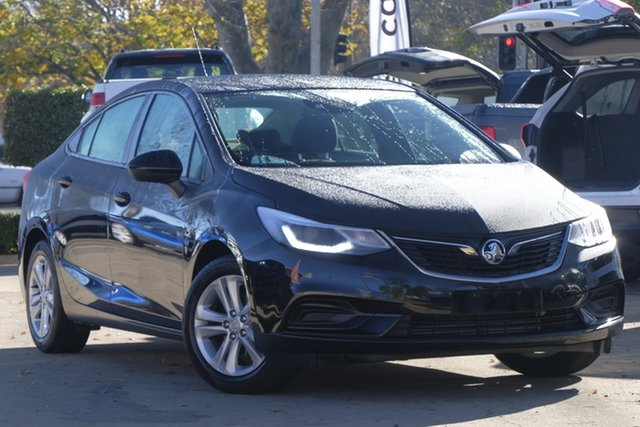 Used Holden Astra BL MY17 LS+, 2017 Holden Astra BL MY17 LS+ Black 6 Speed Sports Automatic Sedan