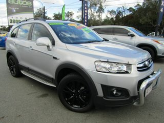 2014 Holden Captiva CG MY14 7 LT (AWD) Silver 6 Speed Automatic Wagon.