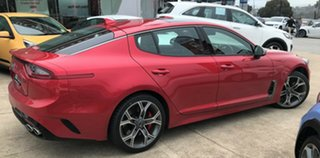 2019 Kia Stinger CK MY19 GT Fastback Hichroma Red 8 Speed Sports Automatic Sedan.