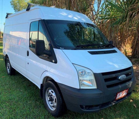 Used Ford Transit VM Mid Roof, 2008 Ford Transit VM Mid Roof White 6 Speed Manual Bus