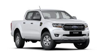 2019 Ford Ranger PX MkIII 2019.75MY XLS Pick-up Double Cab Arctic White 6 Speed Sports Automatic