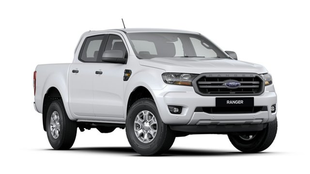 New Ford Ranger  XLS Pick-up Double Cab, 2019 Ford Ranger PX MKIII 2019.7 XLS Pick-up Double Cab Arctic White 6 Speed Sports Automatic