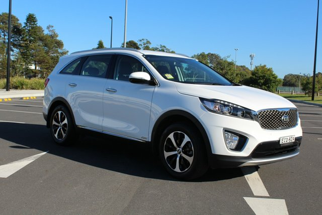 Used Kia Sorento UM MY17 Si AWD Limited, 2017 Kia Sorento UM MY17 Si AWD Limited Clear White 6 Speed Sports Automatic Wagon