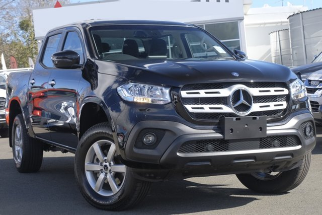 Used Mercedes-Benz X-Class 470 X250d 4MATIC Progressive, 2018 Mercedes-Benz X-Class 470 X250d 4MATIC Progressive Black 6 Speed Manual Utility