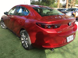 2019 Mazda 3 BP2S7A G20 SKYACTIV-Drive Evolve Soul Red 6 Speed Sports Automatic Sedan