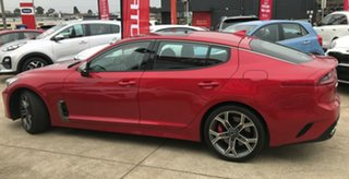 2019 Kia Stinger CK MY19 GT Fastback Hichroma Red 8 Speed Sports Automatic Sedan