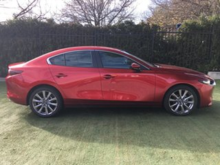 2019 Mazda 3 BP2S7A G20 SKYACTIV-Drive Evolve Soul Red 6 Speed Sports Automatic Sedan.