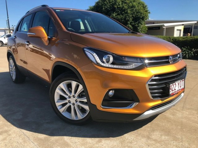 Used Holden Trax TJ MY18 LTZ, 2018 Holden Trax TJ MY18 LTZ Burning Hot Orange 6 Speed Automatic Wagon