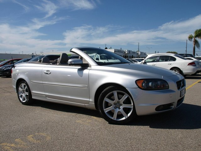 Used Volvo C70 MY08 2.4 LE, 2007 Volvo C70 MY08 2.4 LE Silver Automatic Convertible