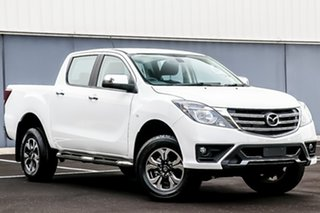 2018 Mazda BT-50 UR0YG1 XTR Cool White 6 Speed Sports Automatic Utility.