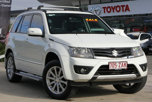 Used Suzuki Grand Vitara JB MY09 Prestige, 2012 Suzuki Grand Vitara JB MY09 Prestige White 4 Speed Automatic Wagon