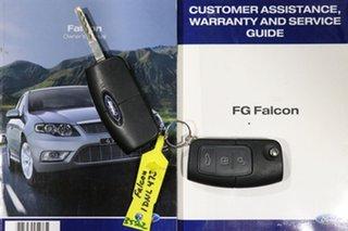 2010 Ford Falcon FG Upgrade XR6 50th Anniversary Silver 6 Speed Auto Seq Sportshift Sedan
