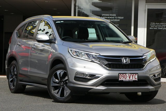 Used Honda CR-V RM Series II MY16 Limited Edition, 2015 Honda CR-V RM Series II MY16 Limited Edition Silver 5 Speed Automatic Wagon