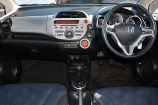 2012 Honda Jazz GE MY12 Vibe Blue 5 Speed Manual Hatchback