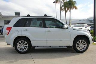 2012 Suzuki Grand Vitara JB MY09 Prestige White 4 Speed Automatic Wagon.