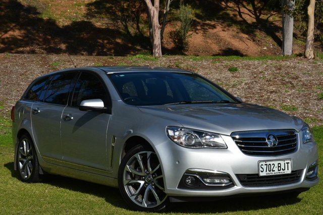 Used Holden Calais VF II MY16 V Sportwagon, 2016 Holden Calais VF II MY16 V Sportwagon Silver 6 Speed Sports Automatic Wagon