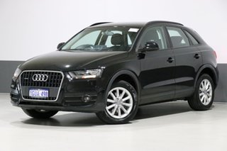 2014 Audi Q3 8U MY14 2.0 TDI Quattro (103kW) Black 7 Speed Auto Dual Clutch Wagon.