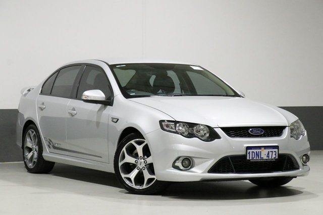 Used Ford Falcon FG Upgrade XR6 50th Anniversary, 2010 Ford Falcon FG Upgrade XR6 50th Anniversary Silver 6 Speed Auto Seq Sportshift Sedan