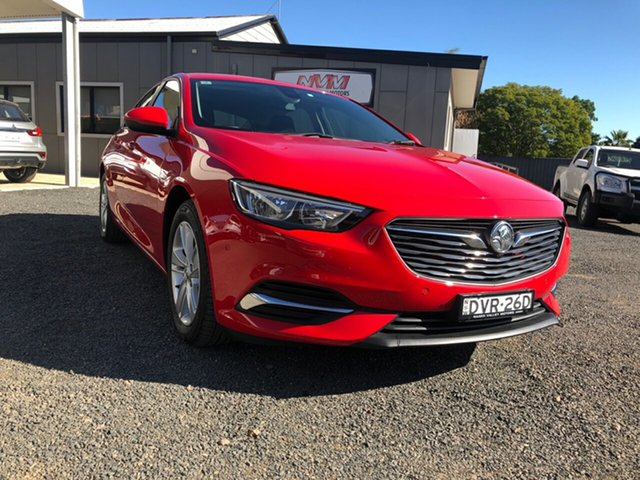 Demo Holden Commodore ZB LT, 2017 Holden Commodore ZB LT Absolute Red 9 Speed Automatic Liftback