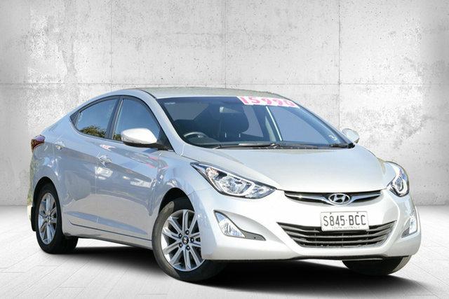Used Hyundai Elantra MD3 Elite, 2014 Hyundai Elantra MD3 Elite Sleek Silver 6 Speed Sports Automatic Sedan