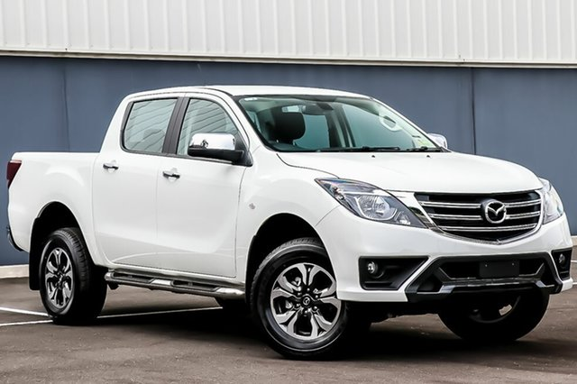 New Mazda BT-50 UR0YG1 XTR, 2018 Mazda BT-50 UR0YG1 XTR Cool White 6 Speed Sports Automatic Utility