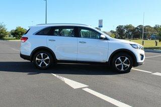 2017 Kia Sorento UM MY17 Si AWD Limited Clear White 6 Speed Sports Automatic Wagon.