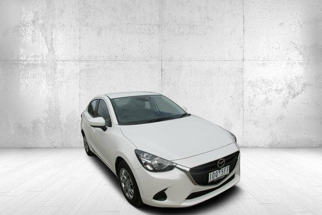 Used Mazda 2 DL2SAA Neo SKYACTIV-Drive, 2017 Mazda 2 DL2SAA Neo SKYACTIV-Drive White 6 Speed Sports Automatic Sedan