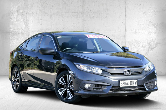 Used Honda Civic 10th Gen MY16 VTi-L, 2016 Honda Civic 10th Gen MY16 VTi-L Cosmic Blue 1 Speed Constant Variable Sedan