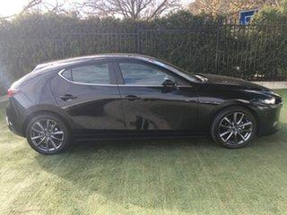 2019 Mazda 3 BP2H7A G20 SKYACTIV-Drive Evolve Jet Black 6 Speed Sports Automatic Hatchback.