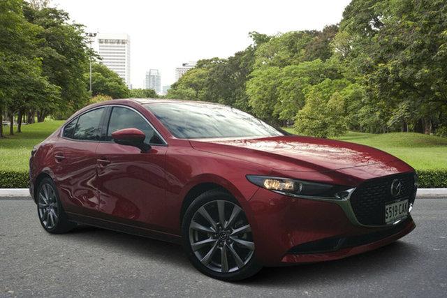 Demo Mazda 3 BP2SLA G25 SKYACTIV-Drive GT, 2019 Mazda 3 BP2SLA G25 SKYACTIV-Drive GT Soul Red 6 Speed Sports Automatic Sedan