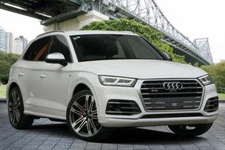 2017 Audi SQ5 FY MY17 Tiptronic Quattro White 8 Speed Sports Automatic Wagon.