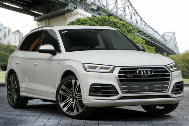 Used Audi SQ5 FY MY17 Tiptronic Quattro, 2017 Audi SQ5 FY MY17 Tiptronic Quattro White 8 Speed Sports Automatic Wagon