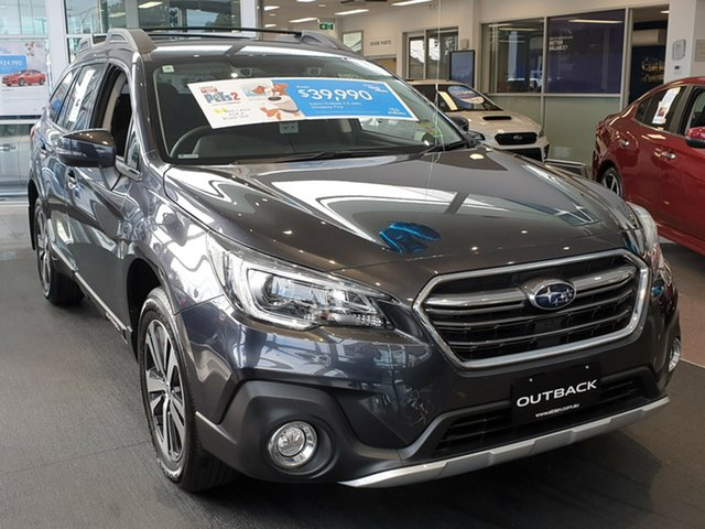 New Subaru Outback B6A MY18 2.5i CVT AWD, 2018 Subaru Outback B6A MY18 2.5i CVT AWD Dark Grey 7 Speed Constant Variable Wagon