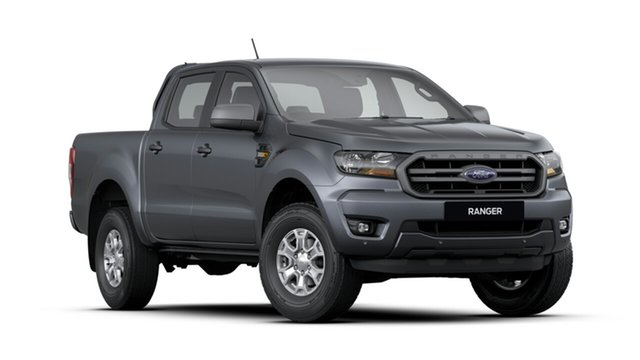 New Ford Ranger PX MkIII 2019.75MY XLS Pick-up Double Cab, 2019 Ford Ranger PX MkIII 2019.75MY XLS Pick-up Double Cab Meteor Grey 6 Speed Sports Automatic