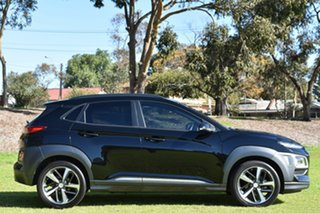 2017 Hyundai Kona OS MY18 Highlander 2WD Black 6 Speed Sports Automatic Wagon