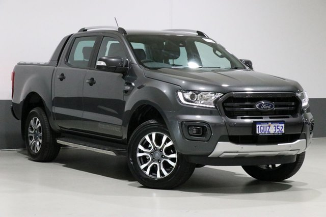 Used Ford Ranger PX MkIII MY19 Wildtrak 3.2 (4x4), 2018 Ford Ranger PX MkIII MY19 Wildtrak 3.2 (4x4) Grey 6 Speed Automatic Dual Cab Pick-up